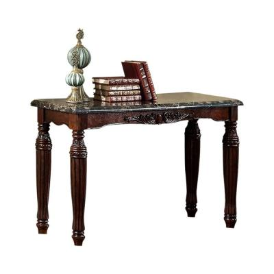 Espresso Brampton Traditional Style Sofa Table