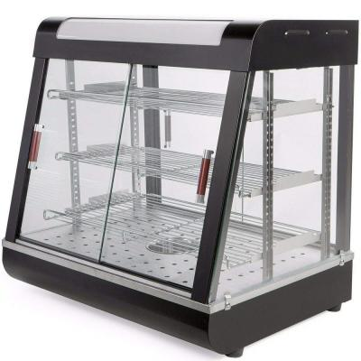 48 in. Commercial Electric Countertop Food Warmer Restaurant Display Cabinet with 3-Warming Trays