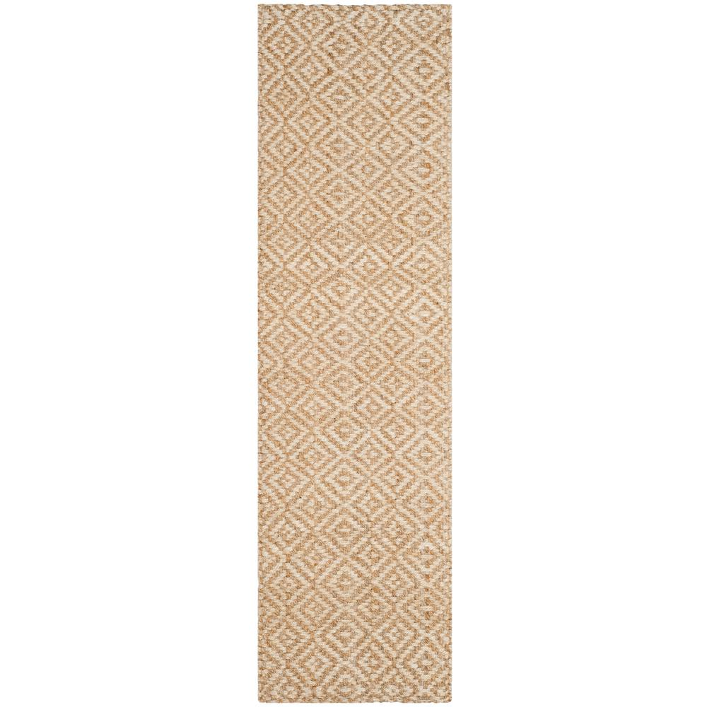 Safavieh Natural Fiber Ivory/Beige 2 ft. 3 in. x 8 ft. Indoor Runner Rug