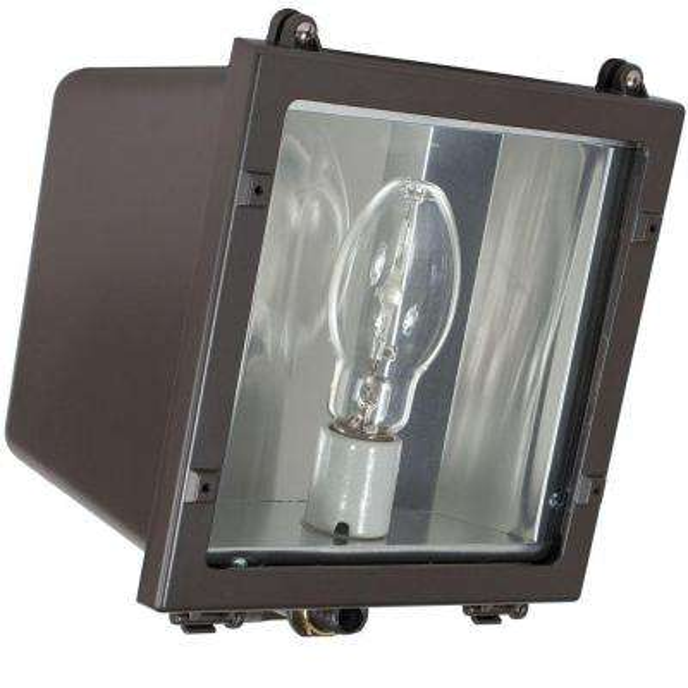 FLS Series 70-Watt Dark Bronze Outdoor HID Small Flood Lighting Fixture