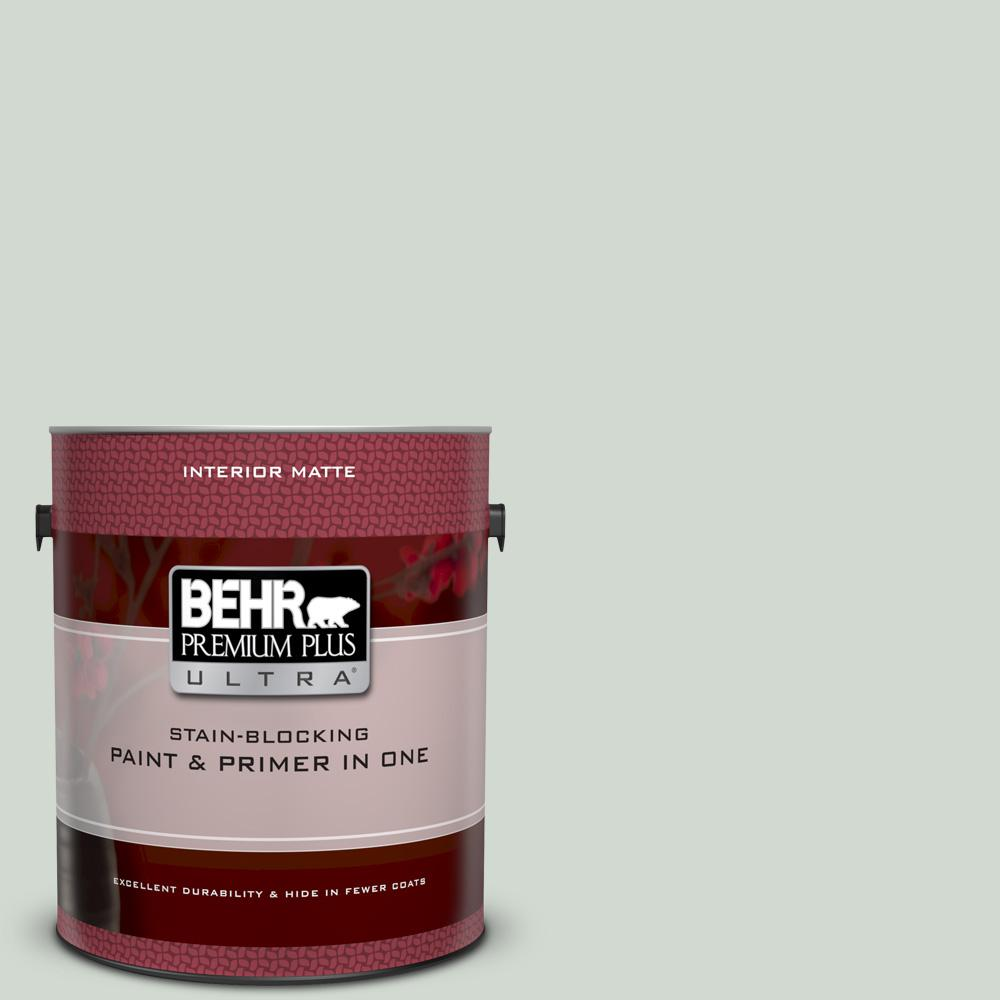 N410 2 Brook Green Matte Interior Paint And Primer In One