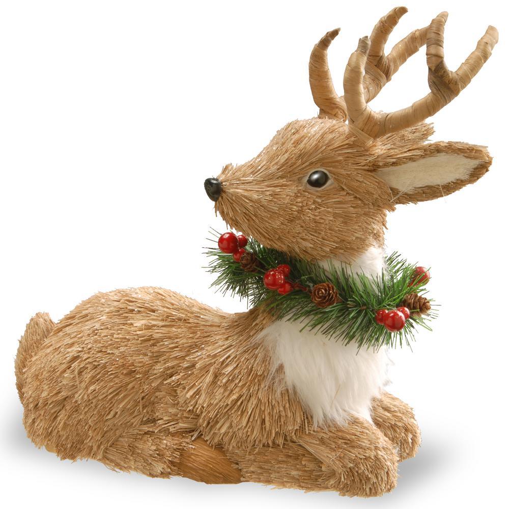 13 in. Resting Reindeer