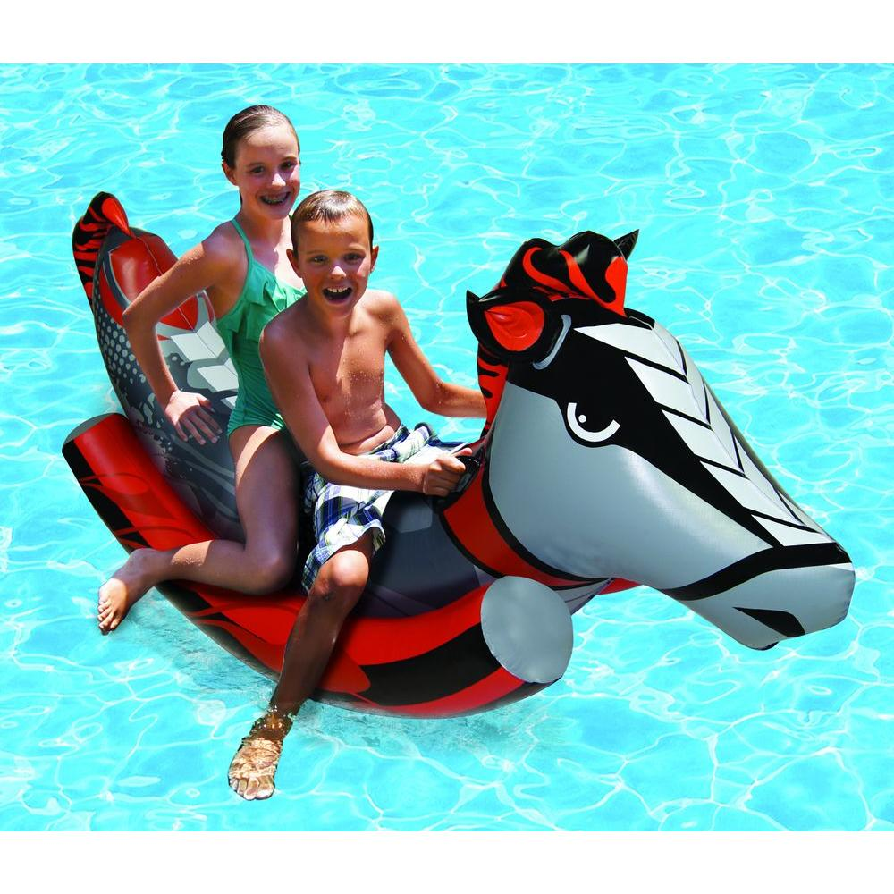2-Person Rockin' Horse Swimming Pool Float