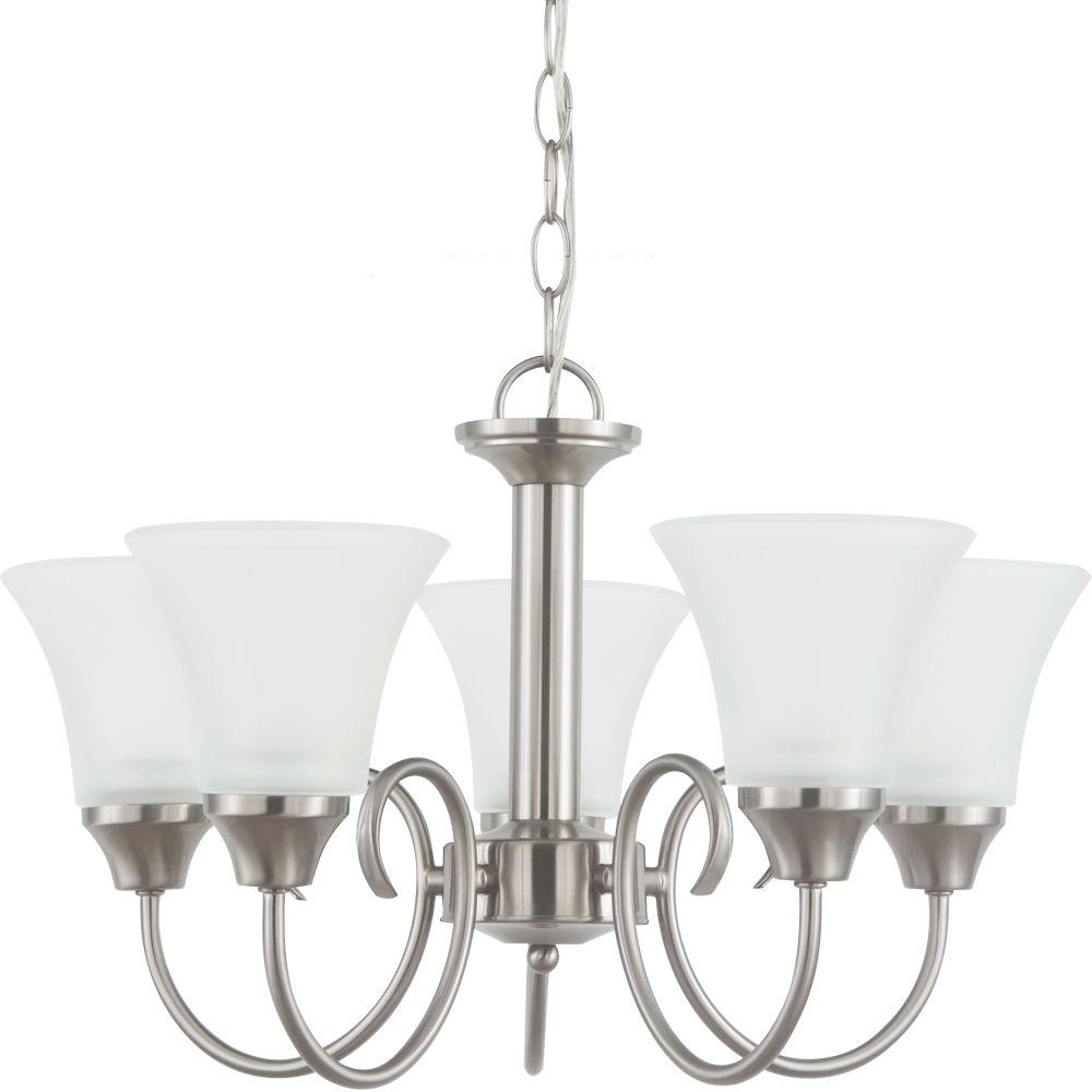 Holman 5-Light Brushed Nickel Single-Tier Chandelier