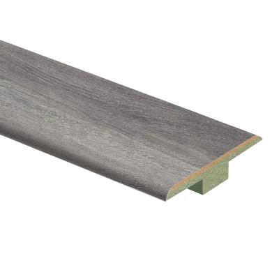 Disher Oak 7/16 in. T x 1-3/4 in. Wide x 72 in. Length Laminate T-Molding