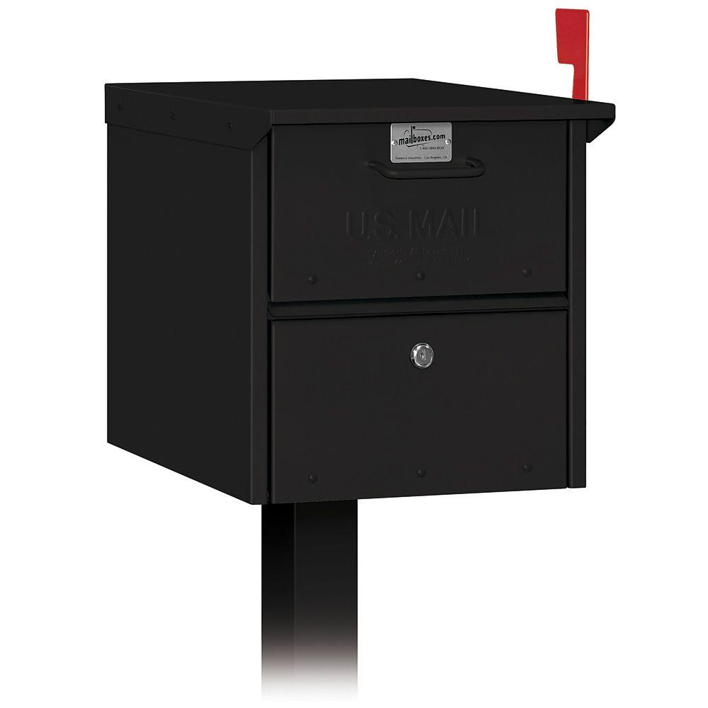 Mailbox Mail Box Post Wall Mount Security Locking Aluminum Heavy Duty 2 Keys 820996100108 Ebay
