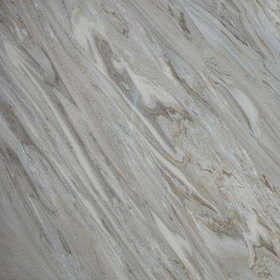 3 in. x 3 in. Marble Countertop Sample in Star Dune Satin Marble