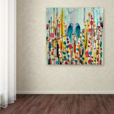"""35 in. x 35 in. """"We"""" by Sylvie Demers Printed Canvas Wall Art"""