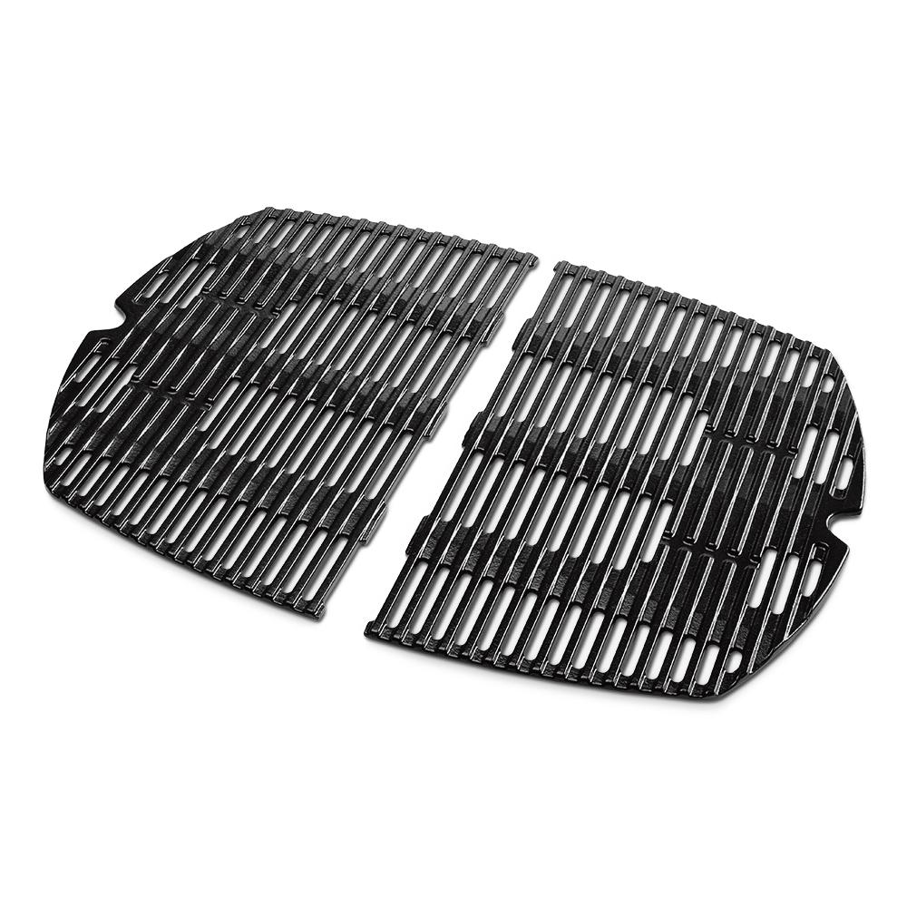 weber replacement cooking grate for q 100 1000 gas grill 7644 the home depot. Black Bedroom Furniture Sets. Home Design Ideas
