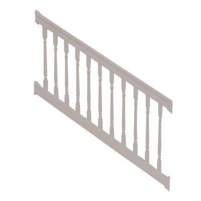 Delray 3.5 ft. x 72 in. Vinyl Tan Stair Railing Kit
