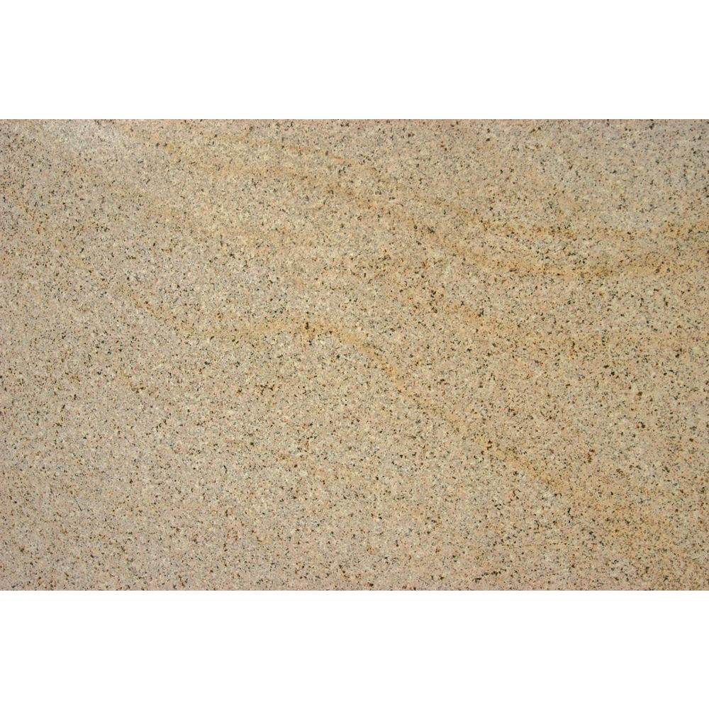 MS International Giallo Fantasia 18 in. x 31 in. Polished Granite ...