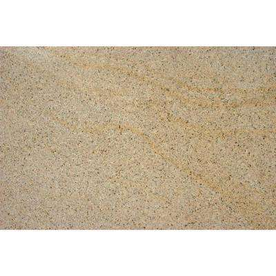 Giallo Fantasia 18 in. x 31 in. Polished Granite Floor and Wall Tile (7.75 sq. ft. / case)