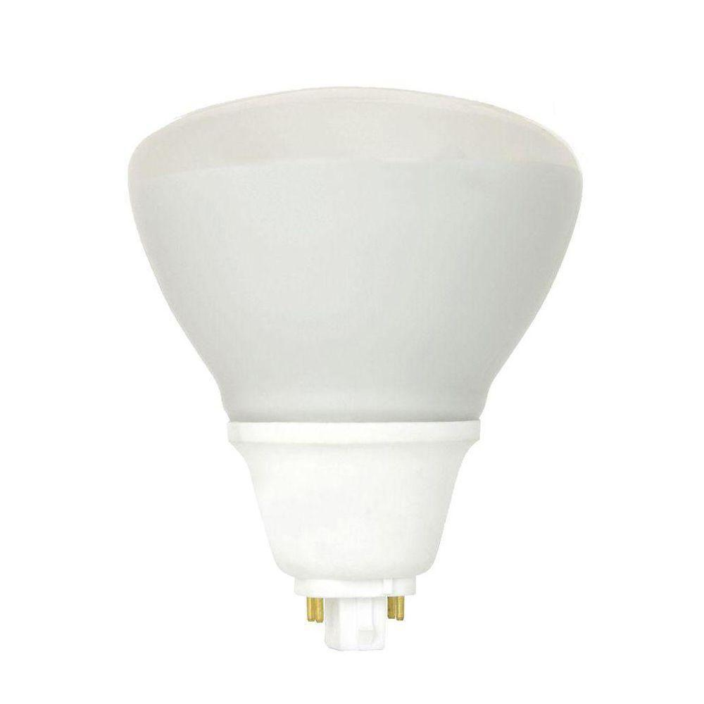 Feit Electric 125W Equivalent Cool White (4100K) BR40 CFL Flood Light Bulb ( 12-Pack)