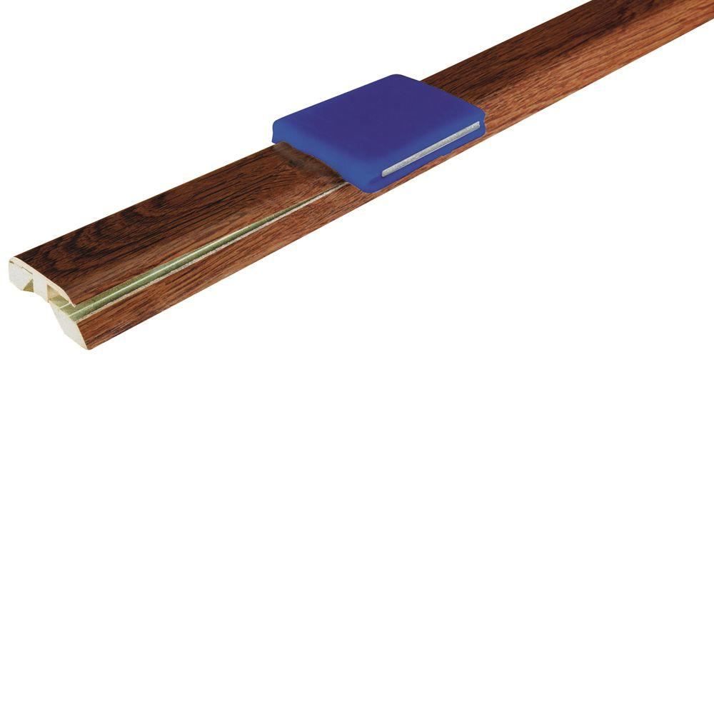 Mohawk Natural Merbau 1-7/8 in. Wide x 83-1/2 in. Length 4-in-1 Laminate Molding-DISCONTINUED