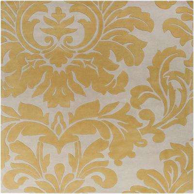 Bellaire Gold 6 ft. x 6 ft. Square Indoor Area Rug