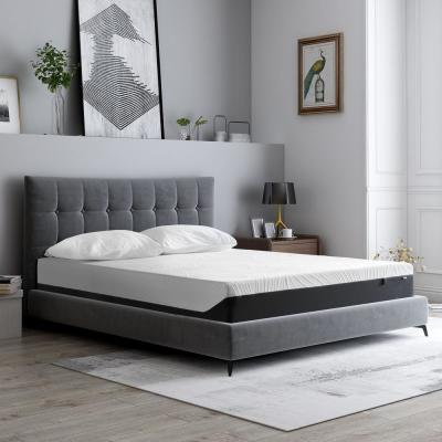 10 in. King Medium Plush Gel Memory Foam Mattress