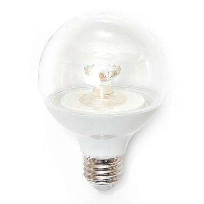 60W Equivalent Soft White G25 Dimmable Clear LED Light Bulb (12-Pack)