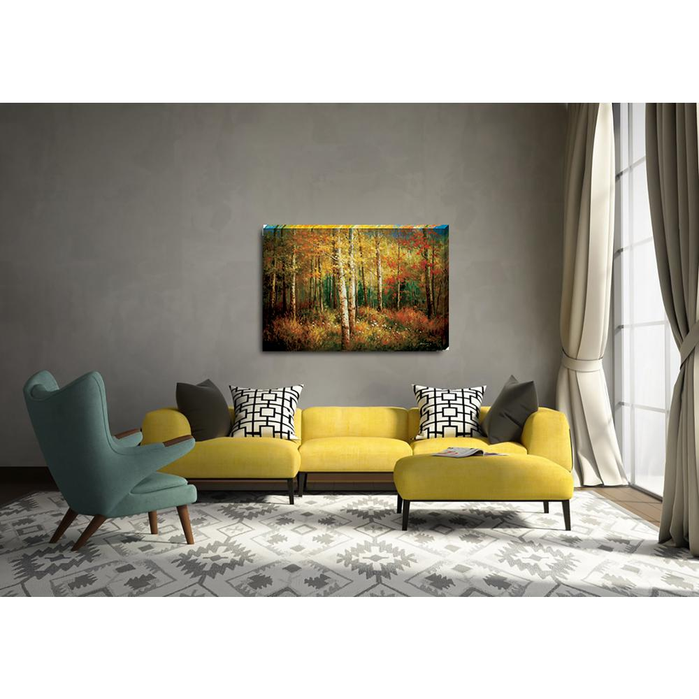 "24 in. x 36 in. ""High Country Colors"" Landscape Printed Canvas"