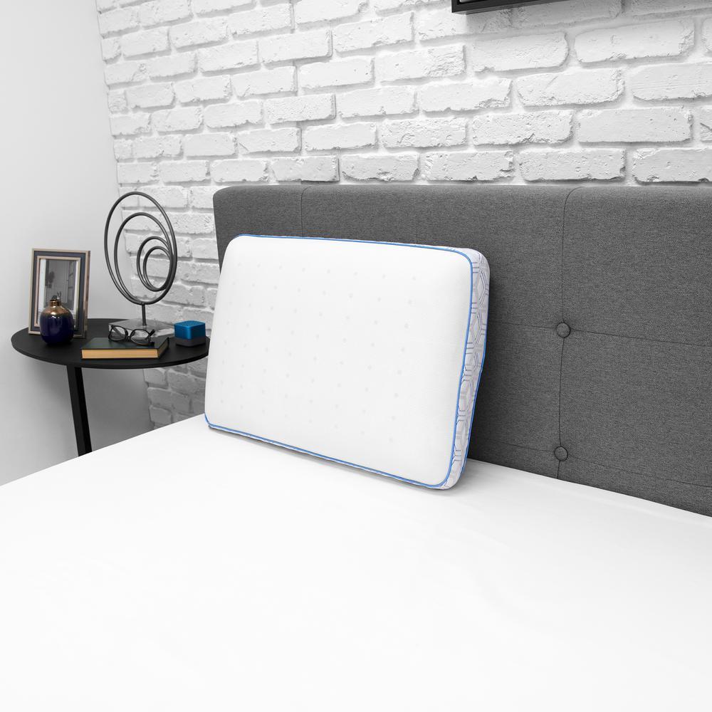 Cooling Gel Memory Foam Jumbo Pillow