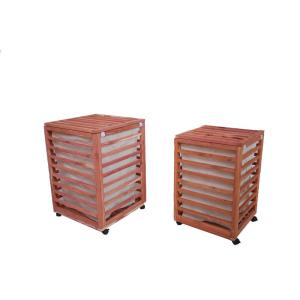 Aromatic Cedar His and Her Hamper Combo (2-Pack)