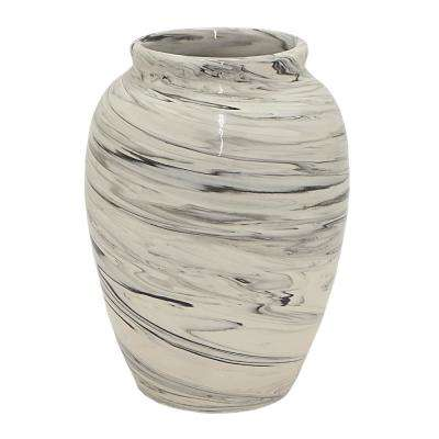Gray Ceramic Decorative Vase