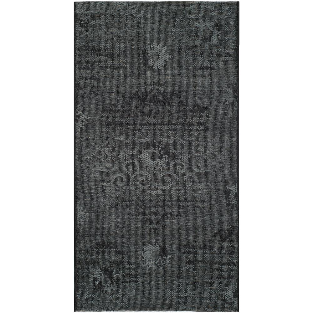 safavieh palazzo black gray 3 ft x 5 ft area rug pal129 56c6 3 the home depot. Black Bedroom Furniture Sets. Home Design Ideas