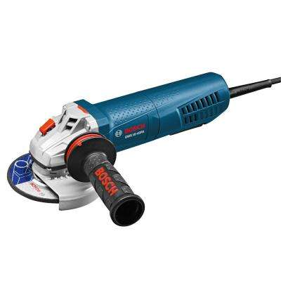 10 Amp Corded 4-1/2 in. Angle Grinder with No-Lock-On Paddle Switch