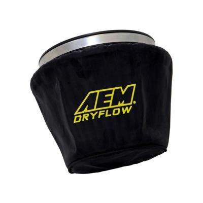 Air Filter Wrap Black 7.5in Length x 5in Width x 5in Height