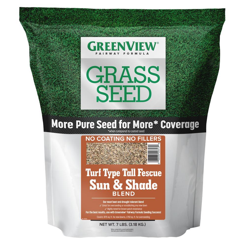 7 lbs. Fairway Formula Grass Seed Turf Type Tall Fescue Sun and Shade Blend