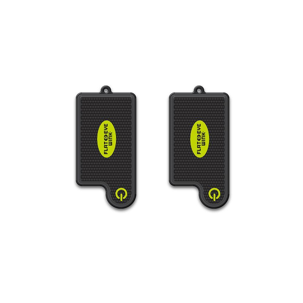 FLATEYE WINK Mini LED Keychain Style Flashlight (2-Pack)