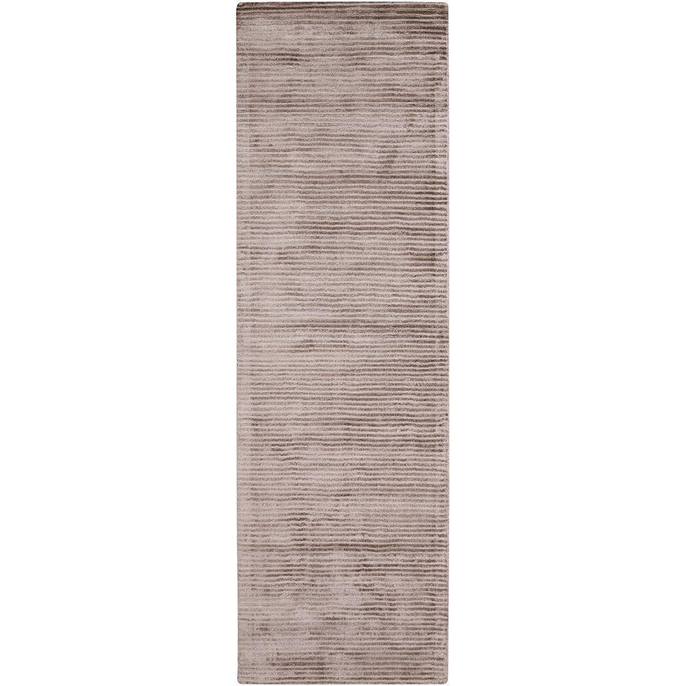 Durham Gray 3 ft. x 8 ft. Indoor Runner Rug