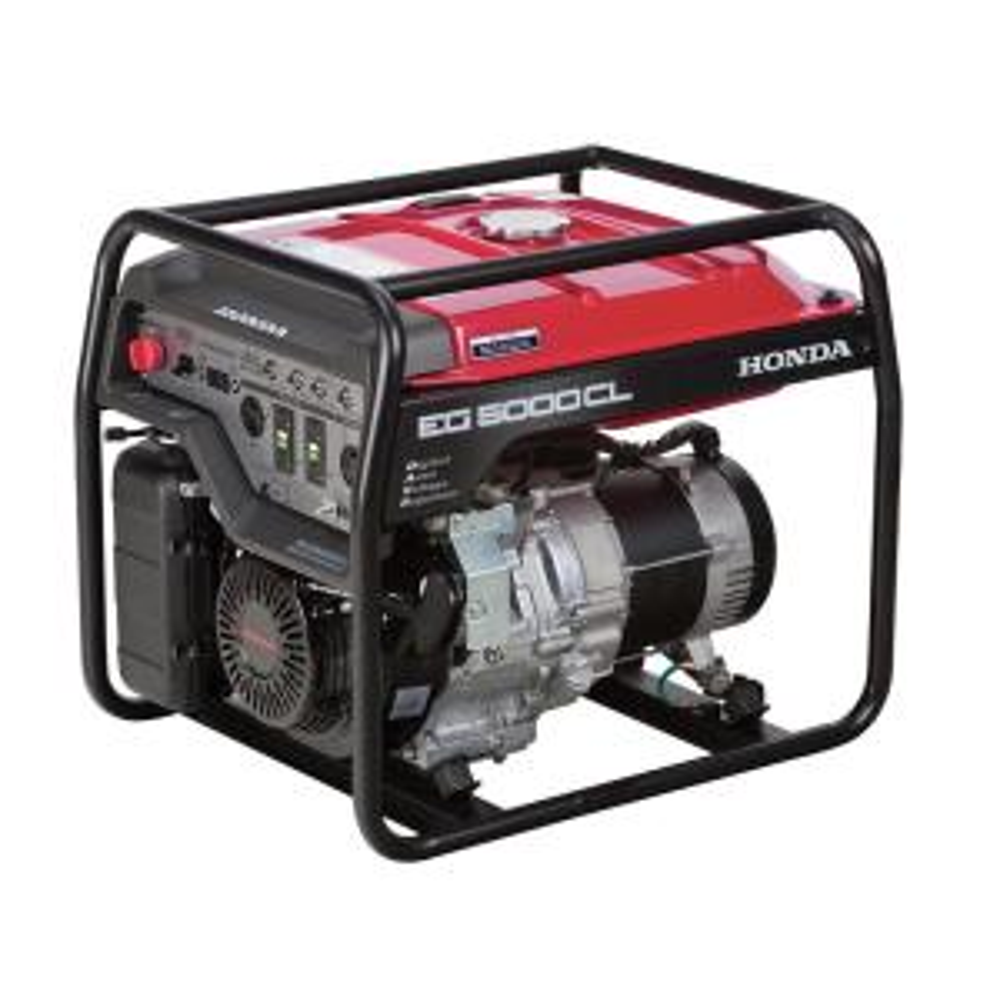 Honda 4500-Watt Gasoline Powered Portable Generator with ...