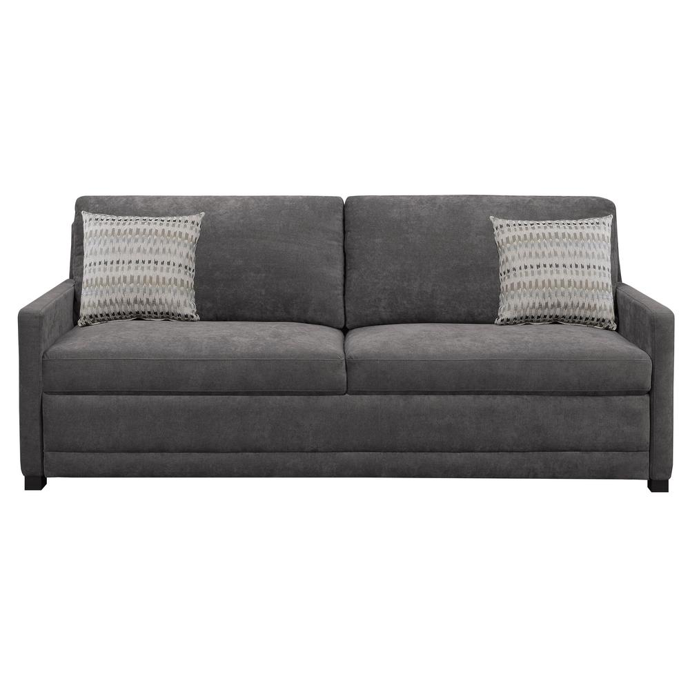 Serta Chelsea Queen Size Sleeper Convertible Sofa Gray