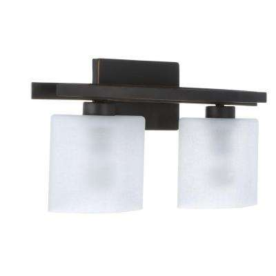 Ettrick 2-Light Oil-Rubbed Bronze Sconce