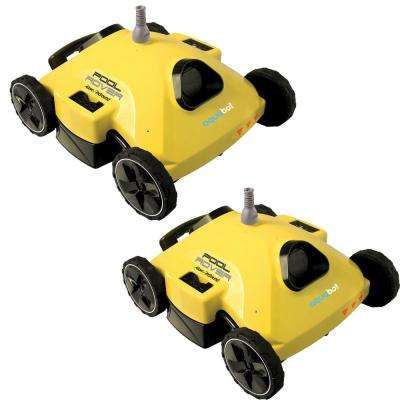 Pool Rover S2-50 Robotic Cleaner For Above/In-Ground Pools (2-Pack)