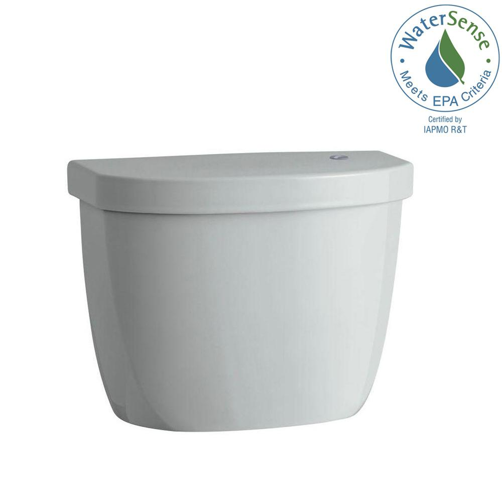 Cimarron Touchless 1.28 GPF Single Flush Toilet Tank Only in Ice