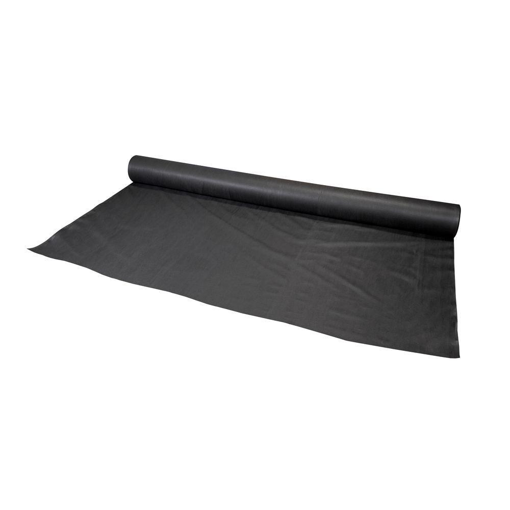 12.5 ft. x 360 ft. Black Polypropylene Non Woven Filter Fabric
