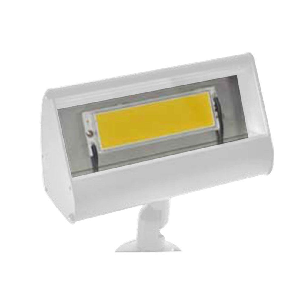 Filament Design Centennial 1-Light Outdoor LED White Textured Flood Light
