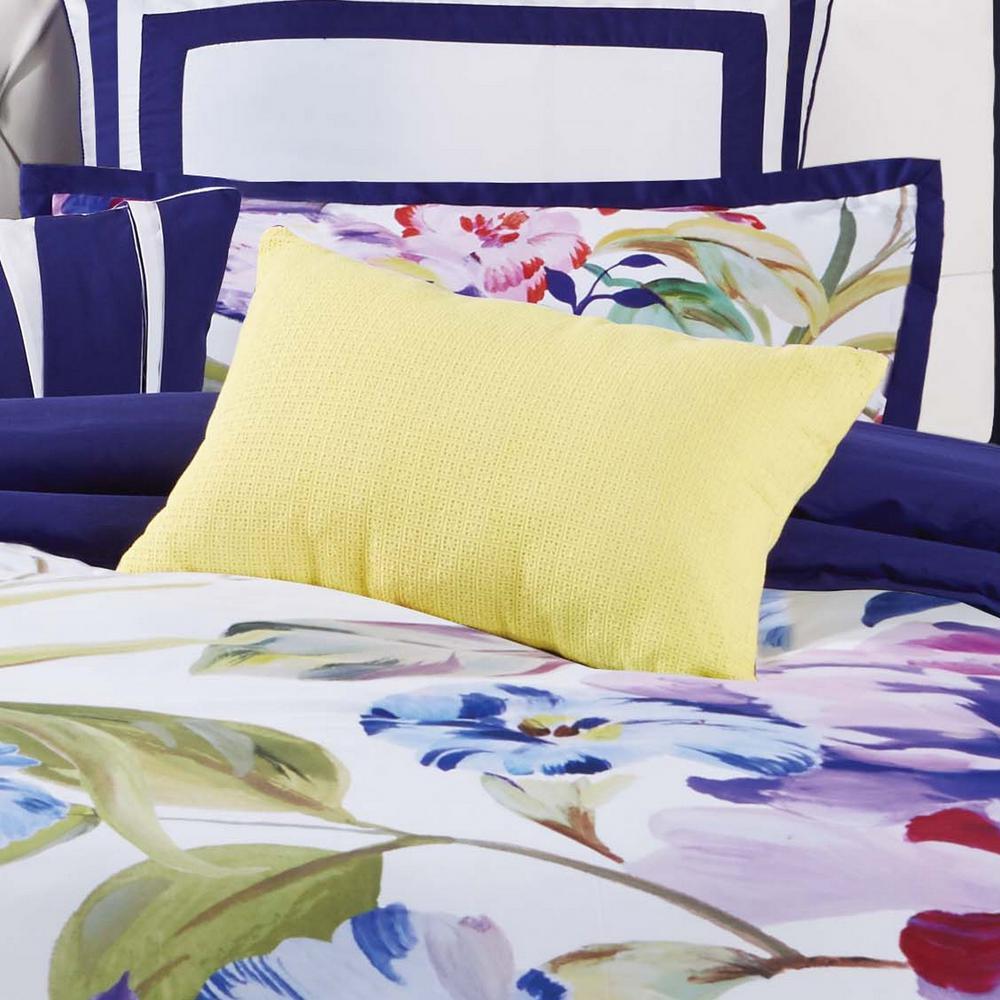 Garden Bloom 12 in. x 22 in. Decorative Pillow