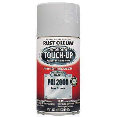 8 oz. Gray Primer Touch-Up Spray Paint (6-Pack)