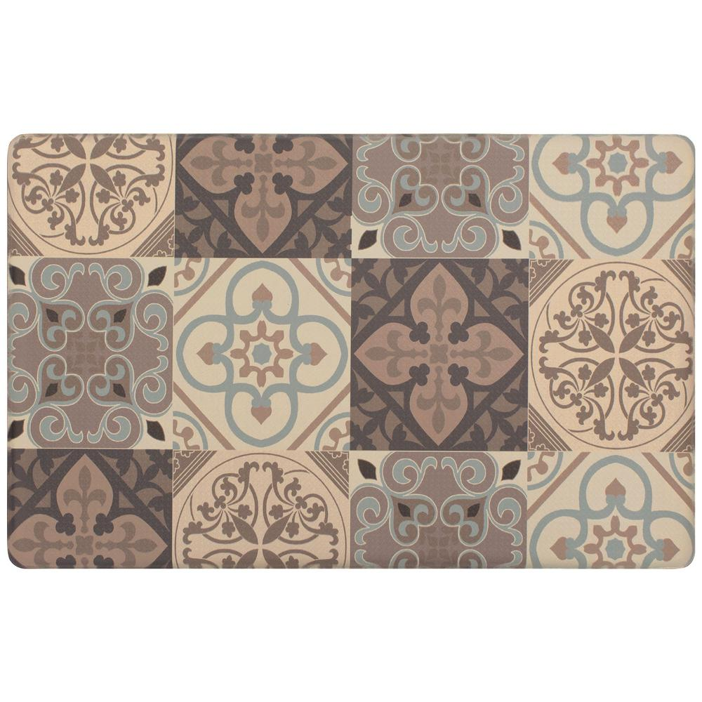 Kitchen Tile Collage 39 in. x 20 in. Gelness Mat