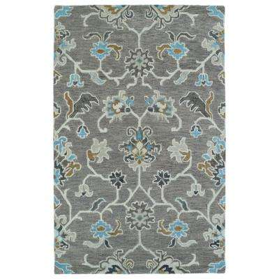 Helena Grey 10 ft. x 14 ft. Area Rug