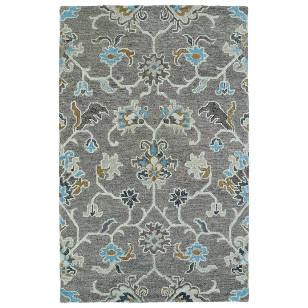 Kaleen Helena Turquoise Area Rug Reviews: Kaleen Helena Grey 9 Ft. X 12 Ft. Area Rug-3209-75 912