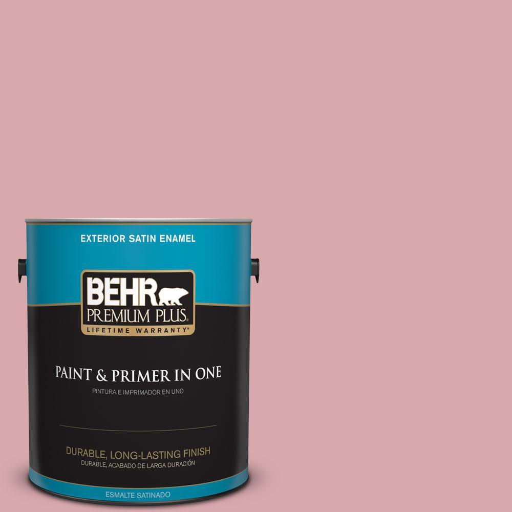 1-gal. #S140-3 Berry Crush Satin Enamel Exterior Paint