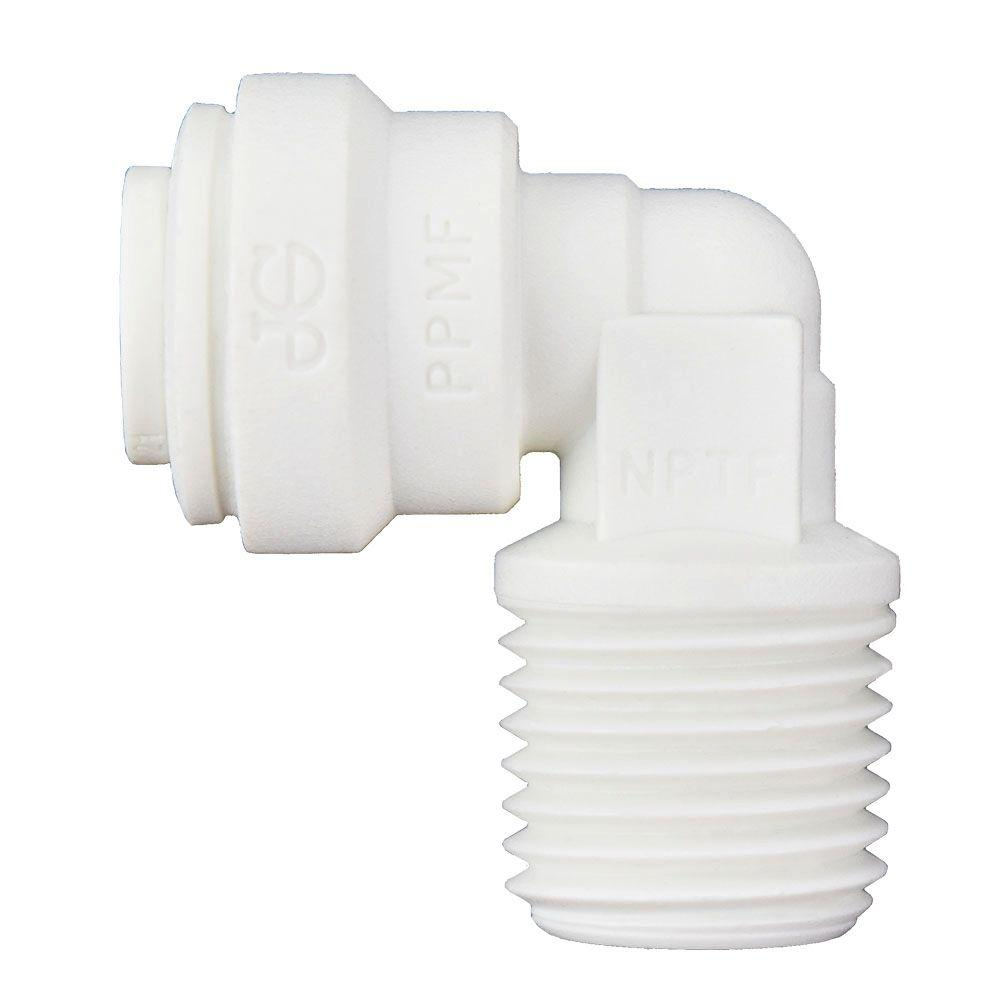 1pc ONE Touch Push Fit to Connect Plug In Elbow Fitting 8mm MettleAir MTLGJ8