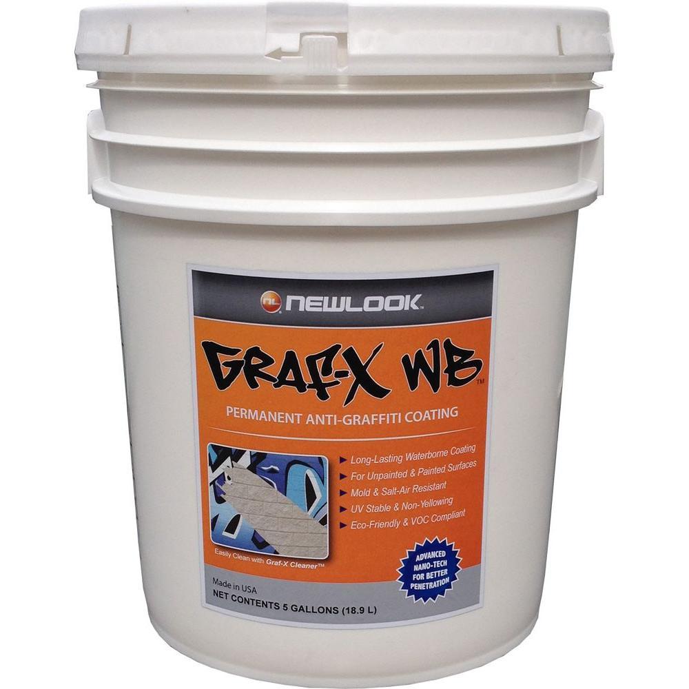Graf-X WB 5 gal. Permanent Anti-Graffiti Coating