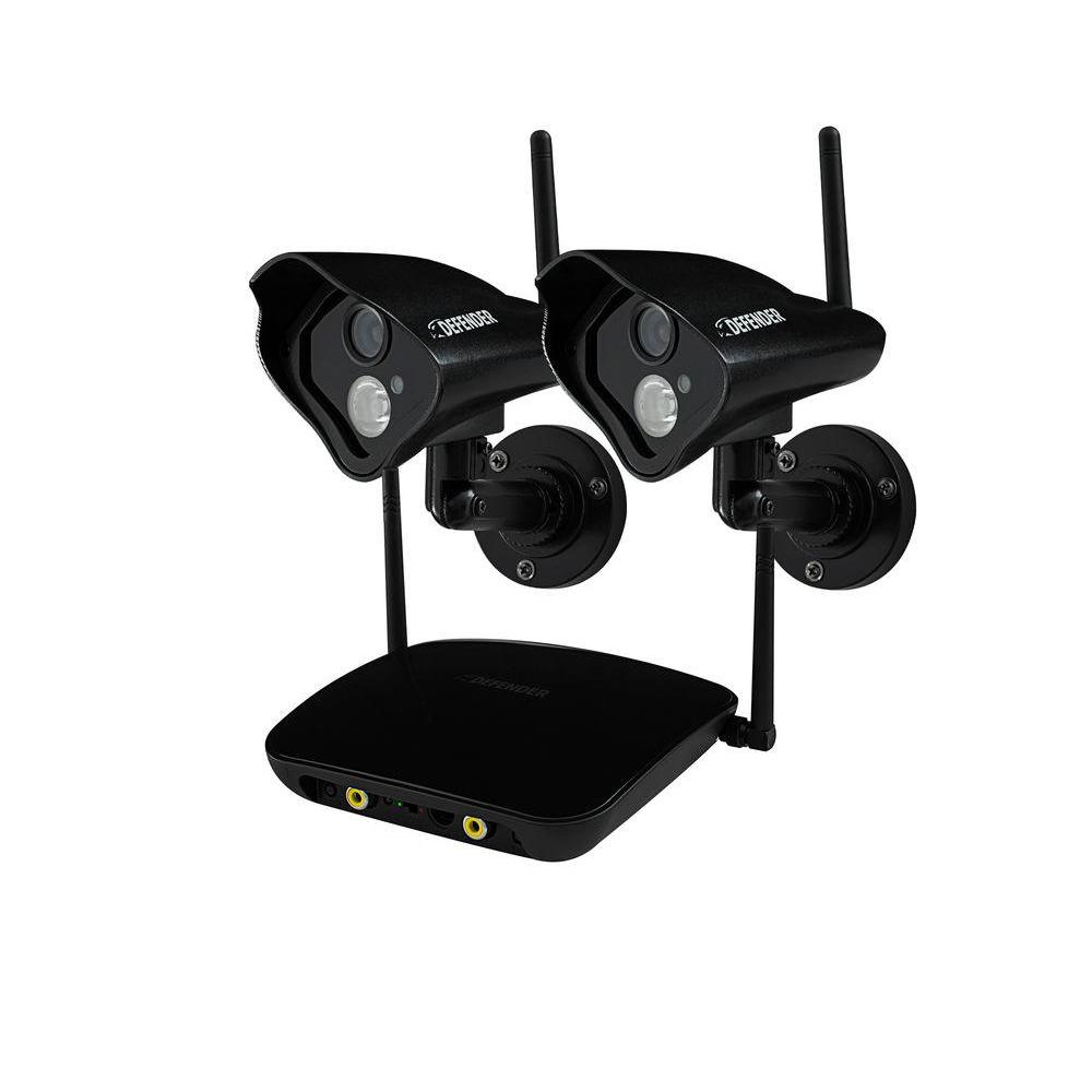 Defender PHOENIX Pro Wireless 520 TVL Indoor/Outdoor ...