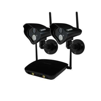 PHOENIX Pro Wireless 520 TVL Indoor/Outdoor Surveillance Camera with 750 ft. Range (2-Pack)