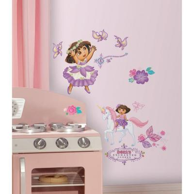 Dora's Enchanted Forest Peel and Stick Wall Decors