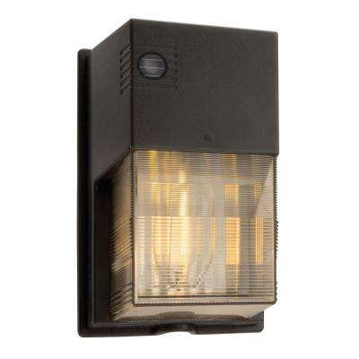 70-Watt Outdoor Bronze High Pressure Sodium Wallpack